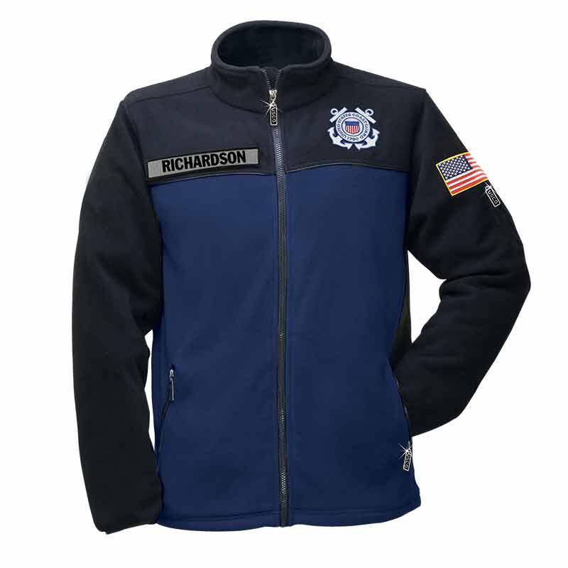 The US Coast Guard Fleece Jacket 1662 009 8 1