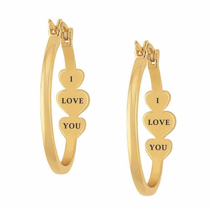 I Love You Diamond Inside Out Hoops 1831 001 1 2
