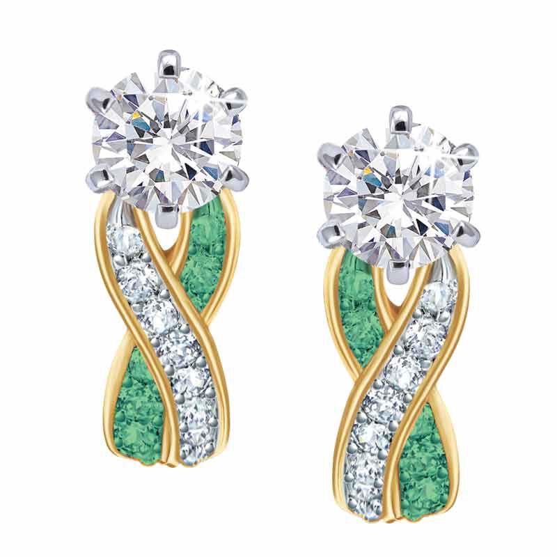 Birthstone Swirl Earrings 5361 014 3 5