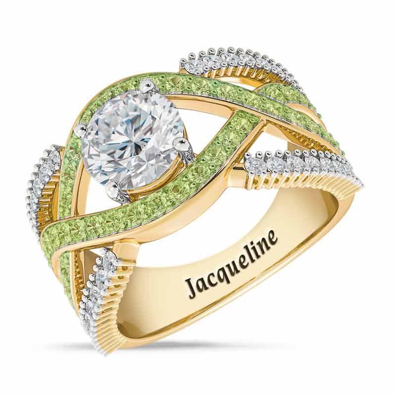 Birthstone Statement Ring 6243 001 2 8
