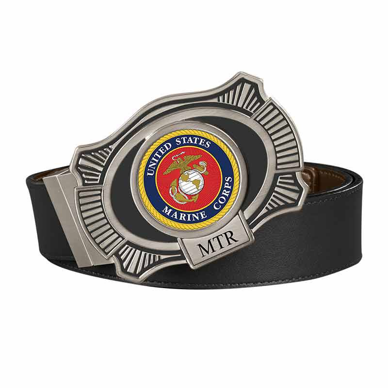 The US Marines Leather Belt 2398 005 5 2