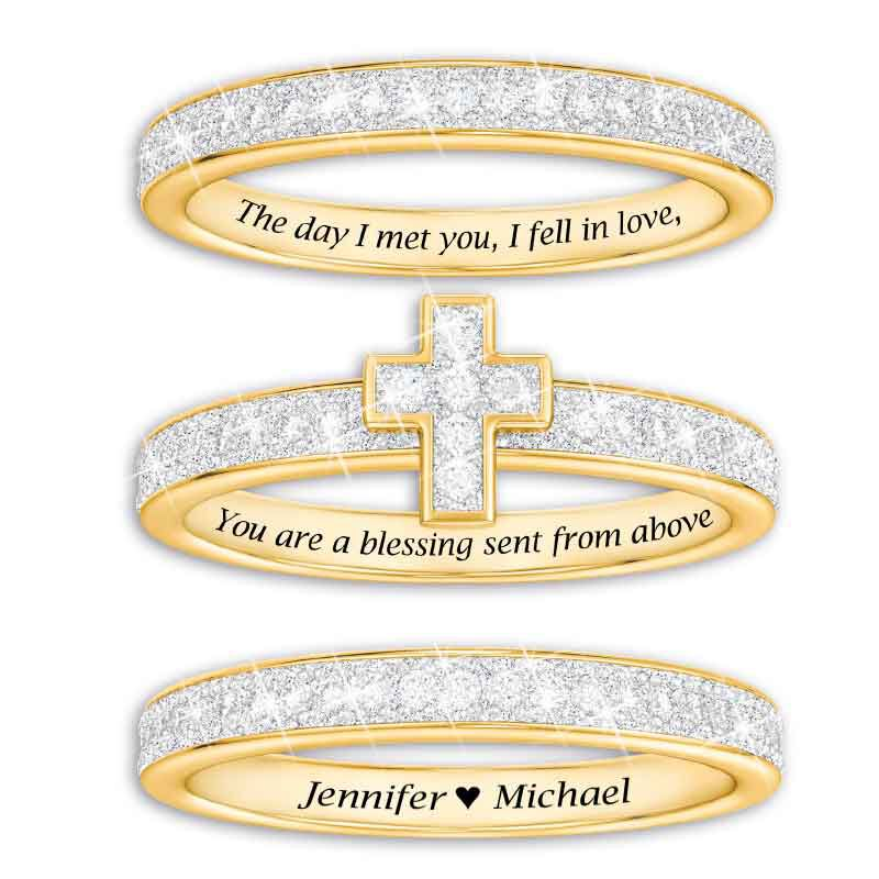 Blessed Love Stackable Diamond Ring Set 5279 001 1 2