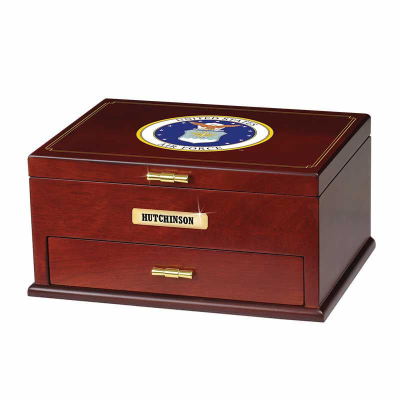 The Personalized US Air Force Valet Box 1711 002 4 2