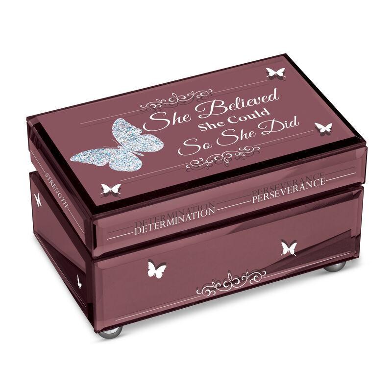 She Believed She Could So She Did Mirror Music Box 6544 001 8 1