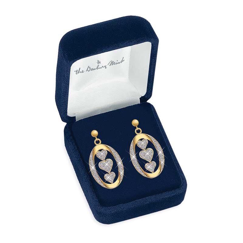 Granddaughter I Love You Diamond Earrings 5185 002 2 3
