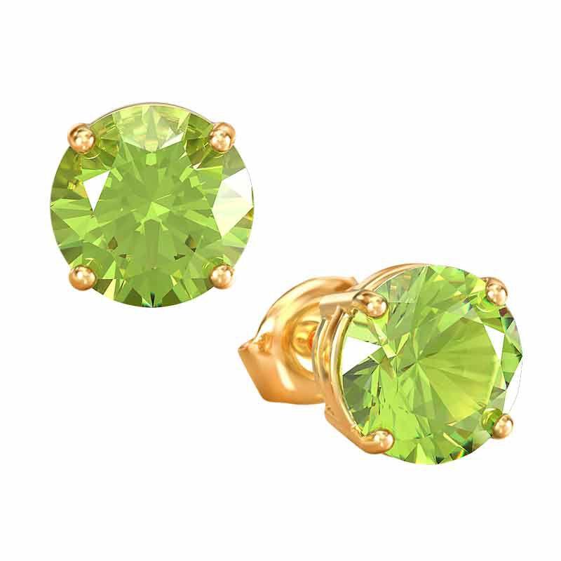 Birthstone Stud Earrings 3359 013 4 8
