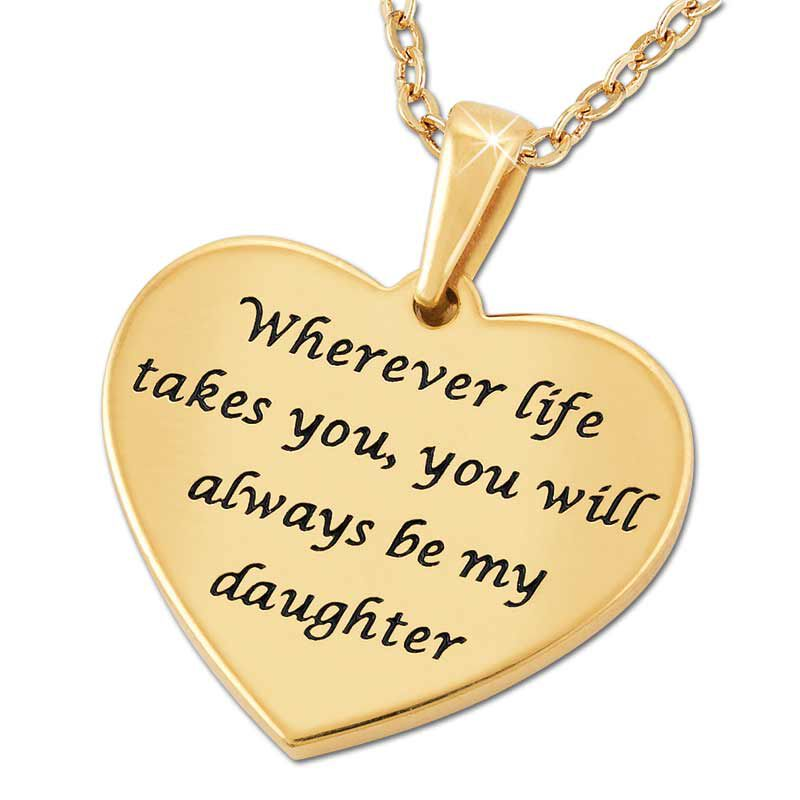 Wherever Life Takes YouAlways Be My Daughter Pendant  Music Box 2869 004 8 4