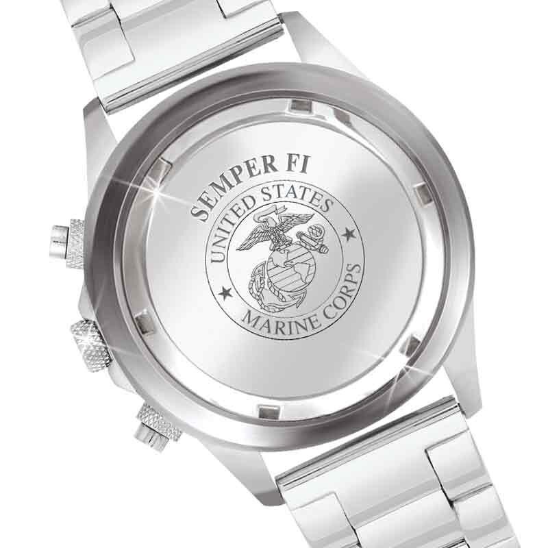 US Marine Corps Chronograph Watch 5406 003 3 4