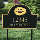 The College Personalized Address Plaque 5716 0384 b plaque