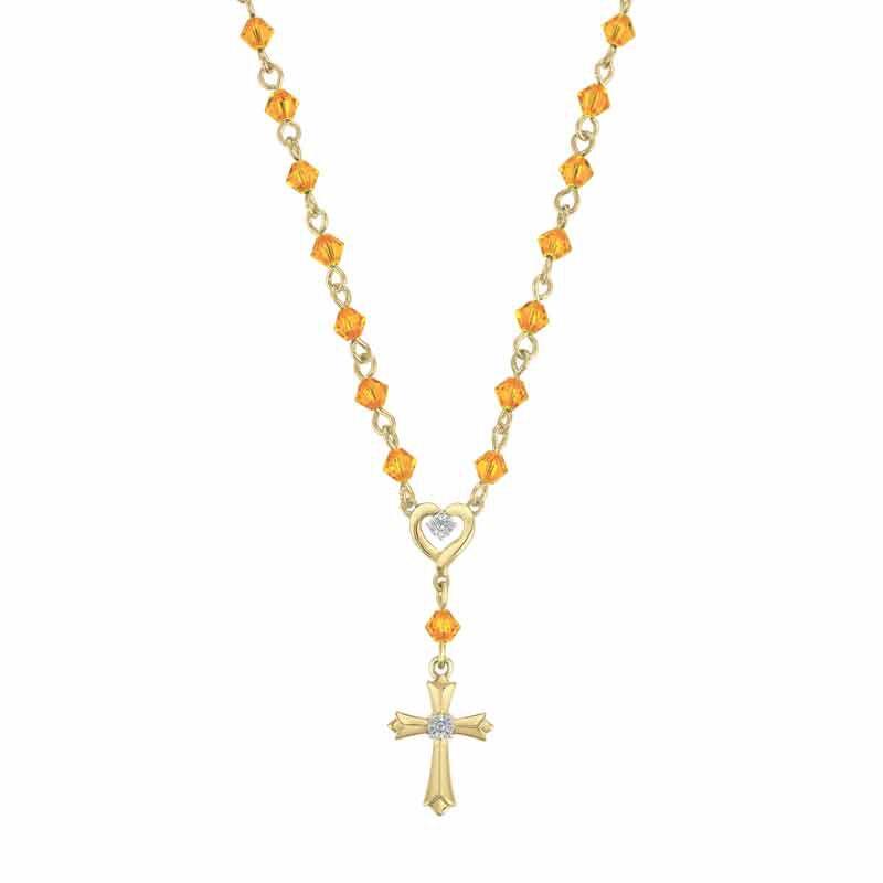 My Devotion Birthstone Diamond Necklace 6365 001 4 11
