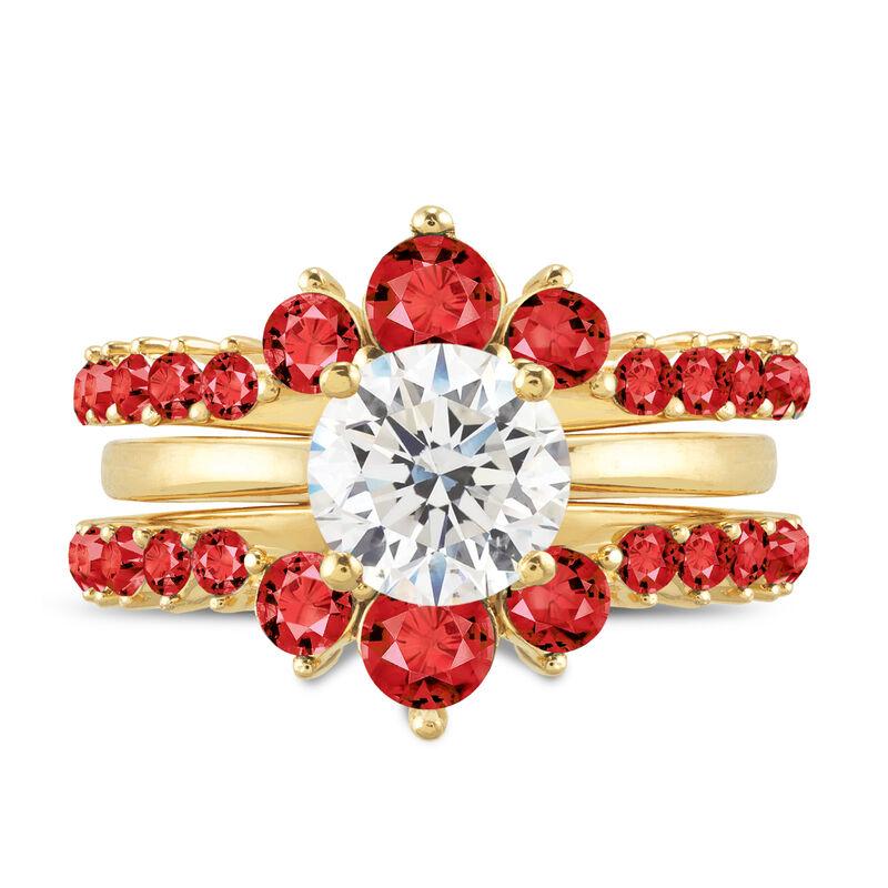 Birthstone Ring Set 6214 0017 g july