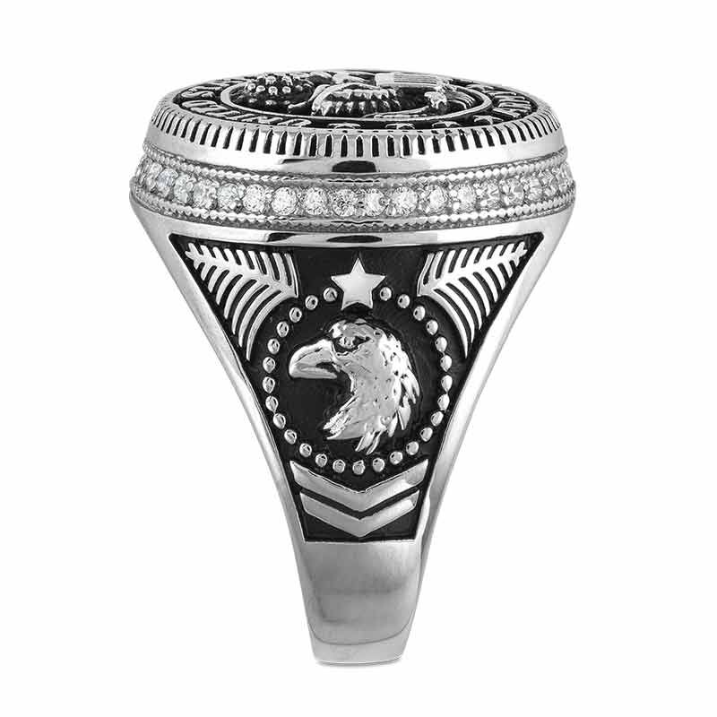 Silver Salute US Army Ring 2541 001 0 3