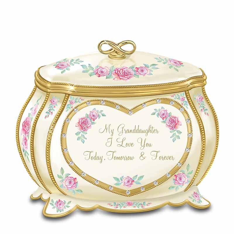 My Granddaughter Joy  Pride Heirloom Music Box 4916 001 3 1