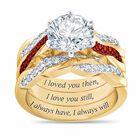 I Still Do Birthstone Ring Set 6740 0010 a main01