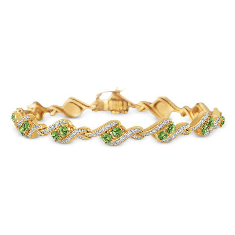 Birthstone  Diamond Bracelet 6321 001 7 8