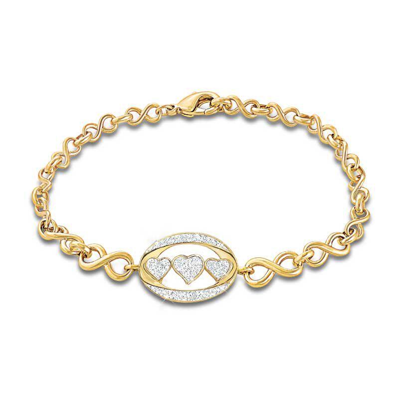 I Love You Diamond Bracelet 4398 001 0 1