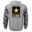 Personalized US Army Hoodie 10117 0017 b back