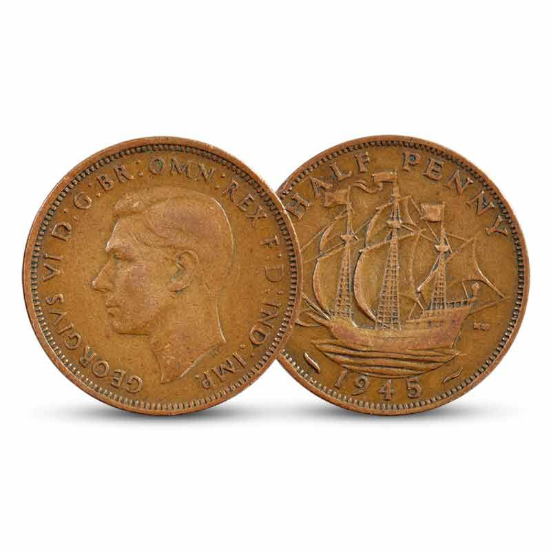 The Complete Golden Hind Halfpenny Collection 6438 001 7 2