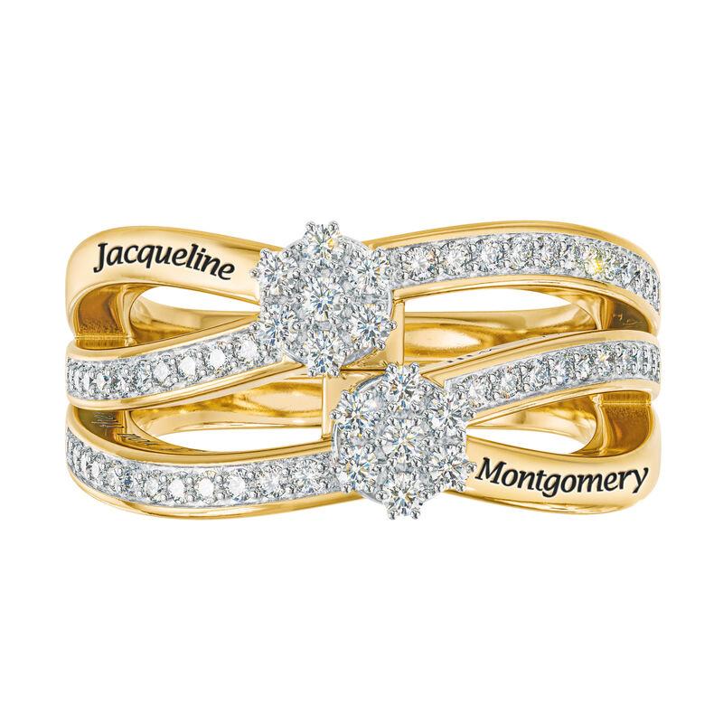 You Me Forever Secret Message Diamond Ring 10206 0019 b straight on