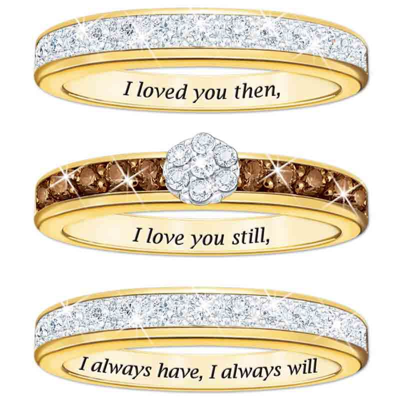 I Love You Always Diamond Ring Set 5215 002 6 2