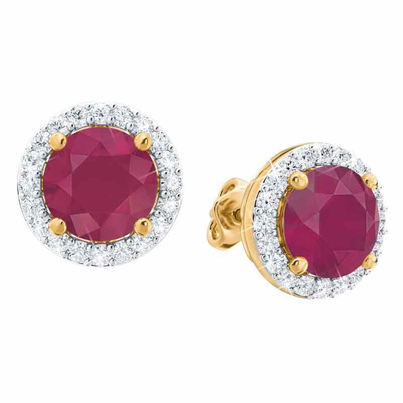 Birthstone Stud Earrings 3359 014 2 7