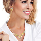 The Juliet Rose Necklace and Earring Set 10192 0015 m model