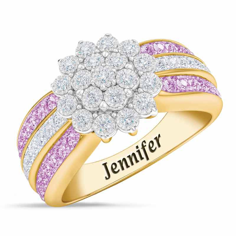 Personalized Birthstone Radiance Ring 5687 003 3 6