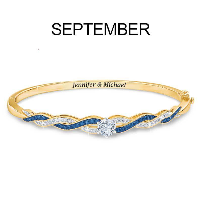 Birthstone Swirl Bracelet 5821 002 2 10