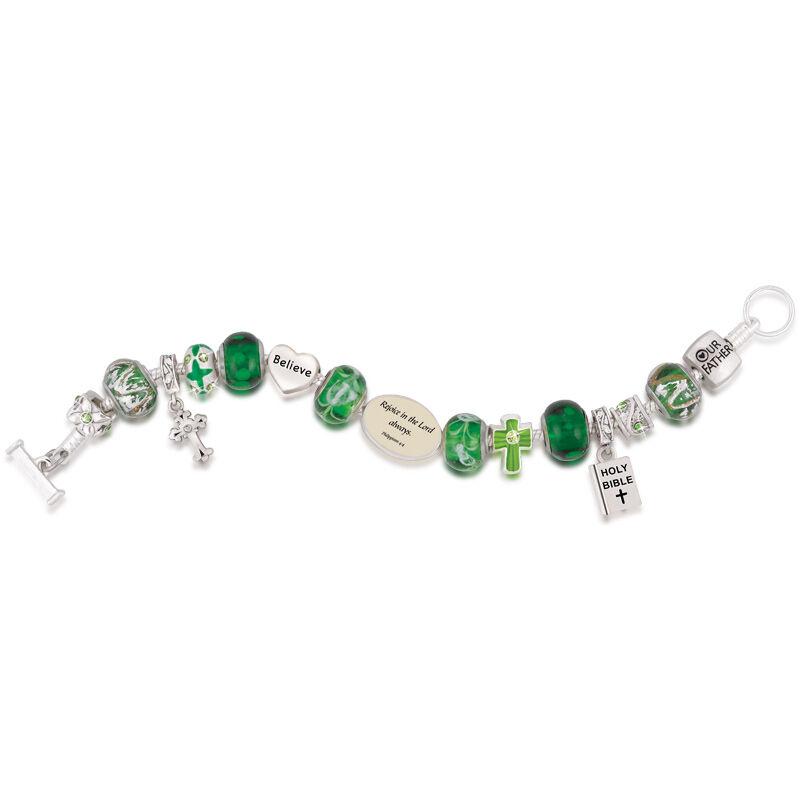 Messages of Faith Charm Bracelet Set 4850 001 1 5