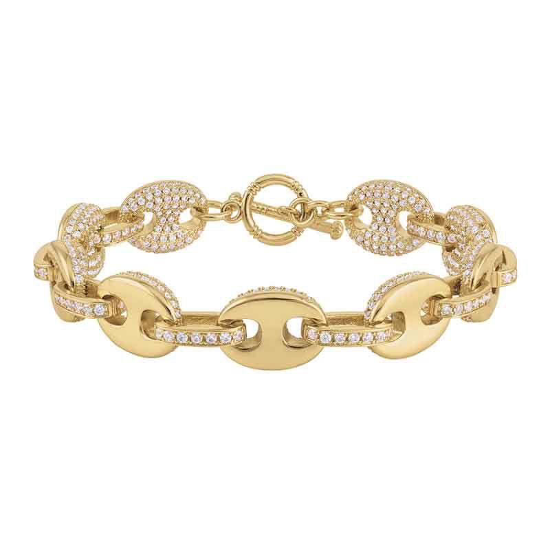 Sparkle of the Sea Mariners Link Bracelet 6317 001 3 2
