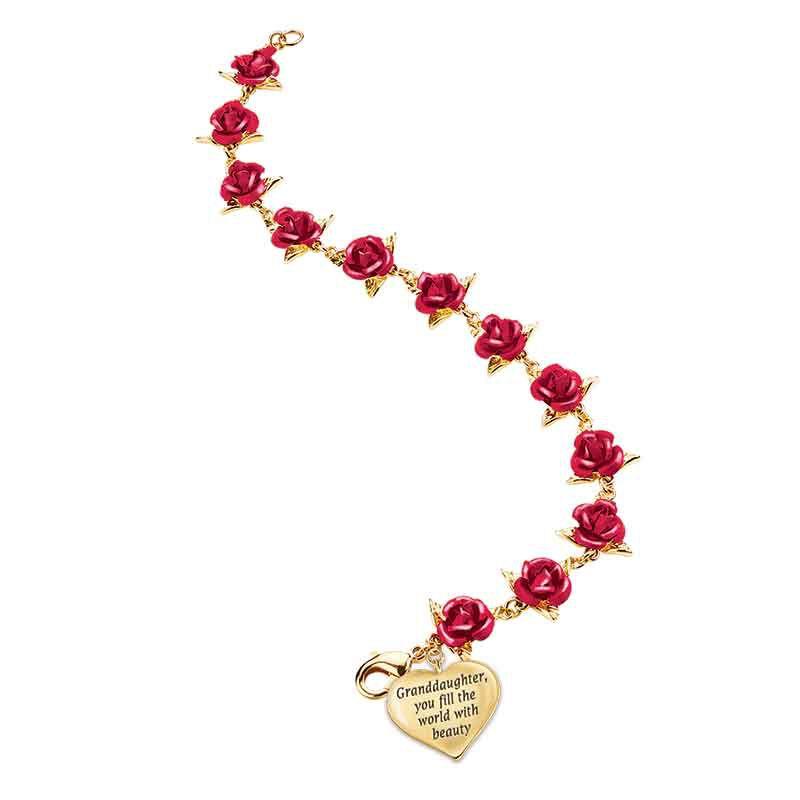 Dozen Roses Granddaughter Bracelet 1519 001 0 3