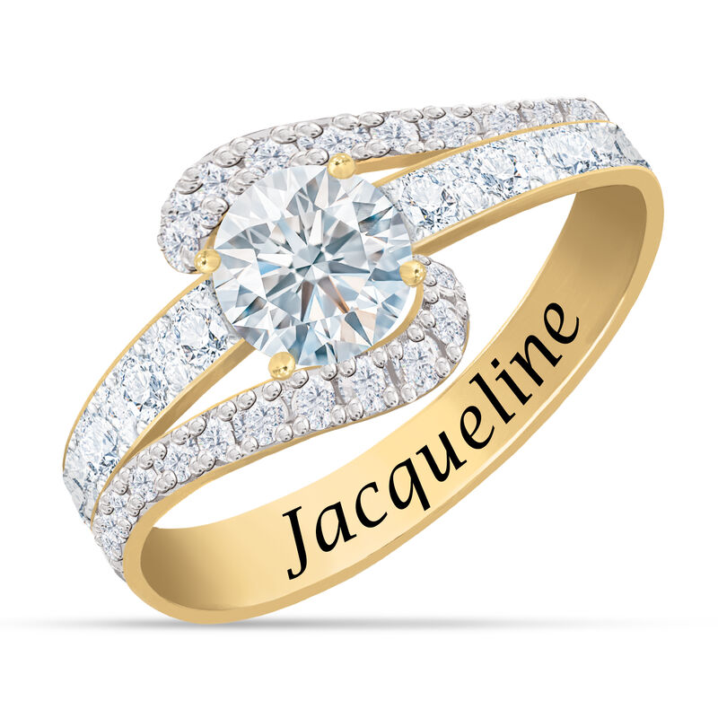 Personalized Birthstone Splendor Ring 10385 0012 d april