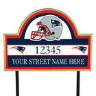 NFL Pride Personalized Address Plaques 5463 0405 a patriots