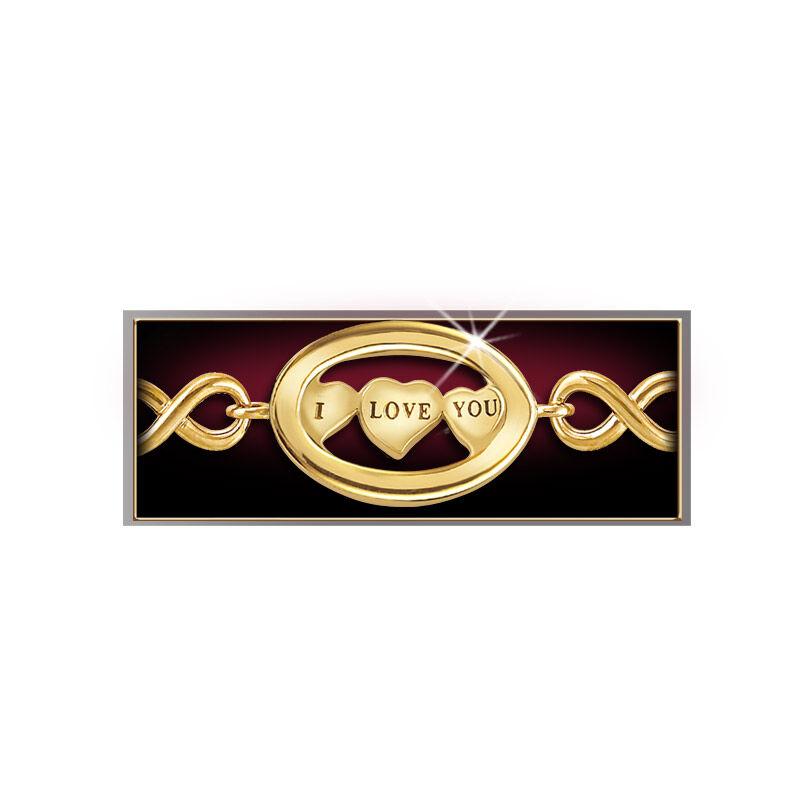 I Love You Diamond Bracelet 4398 001 0 2