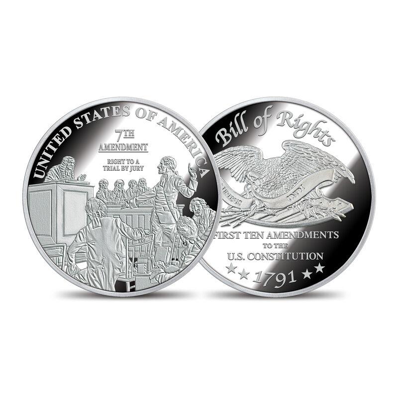 The Bill of Rights Silver Bullion Commemoratives 6530 0022 e commemorative7