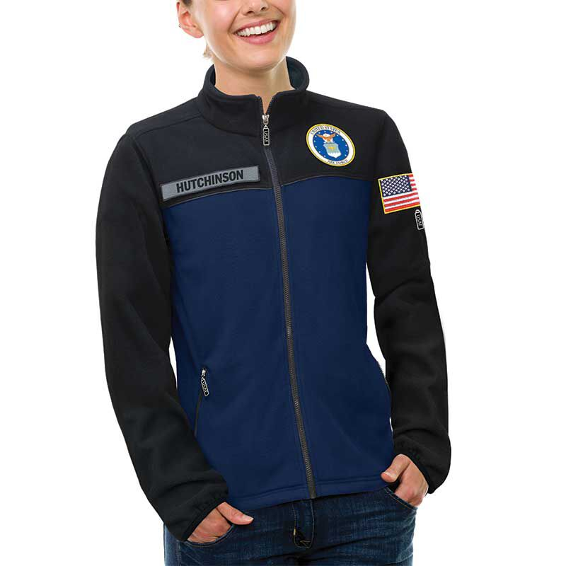 The US Air Force Womens Fleece Jacket 1662 012 2 2