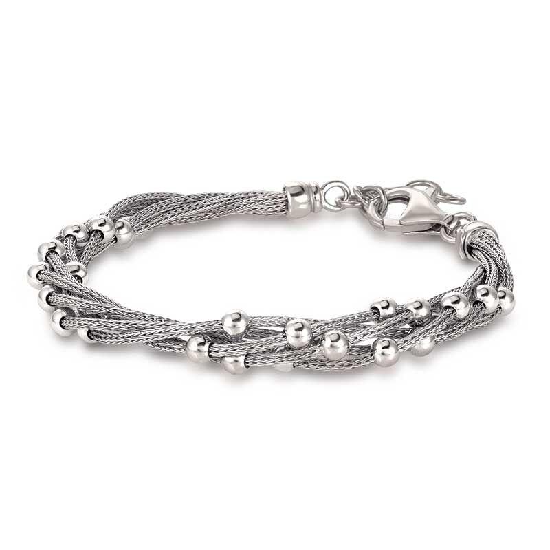 Stella Italia Sterling Silver Bracelet 6356 001 5 1