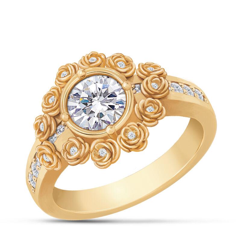 A Dozen Roses Birthstone Diamond Ring 6874 0018 d april