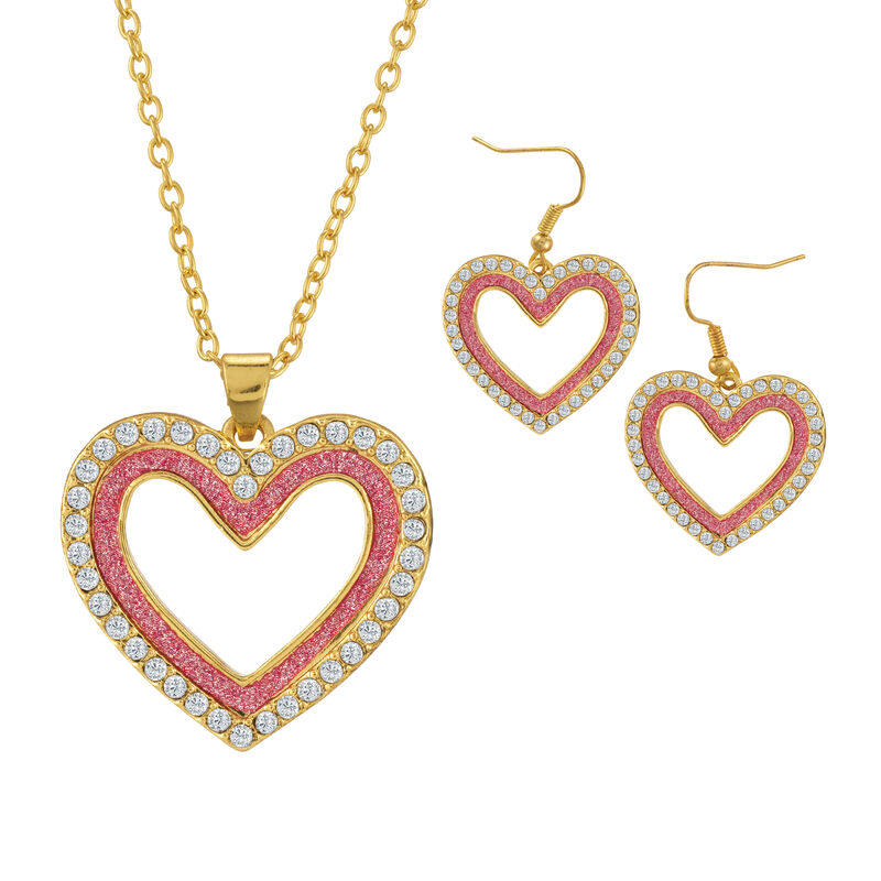 Sparkling Statements Pendant and Earring collection 10028 0015 c february
