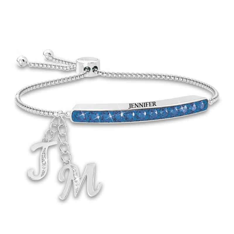 Personalized Birthstone Bolo Bracelet 1864 002 9 9