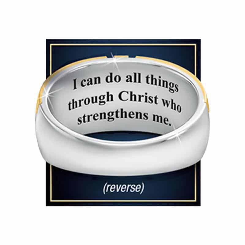 Steel Devotion Diamond Ring 5369 001 2 2