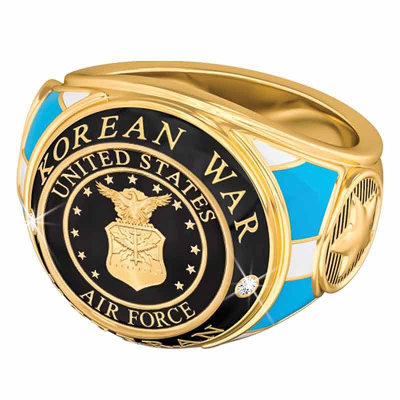 US Air Force Veteran Ring 1861 004 8 3