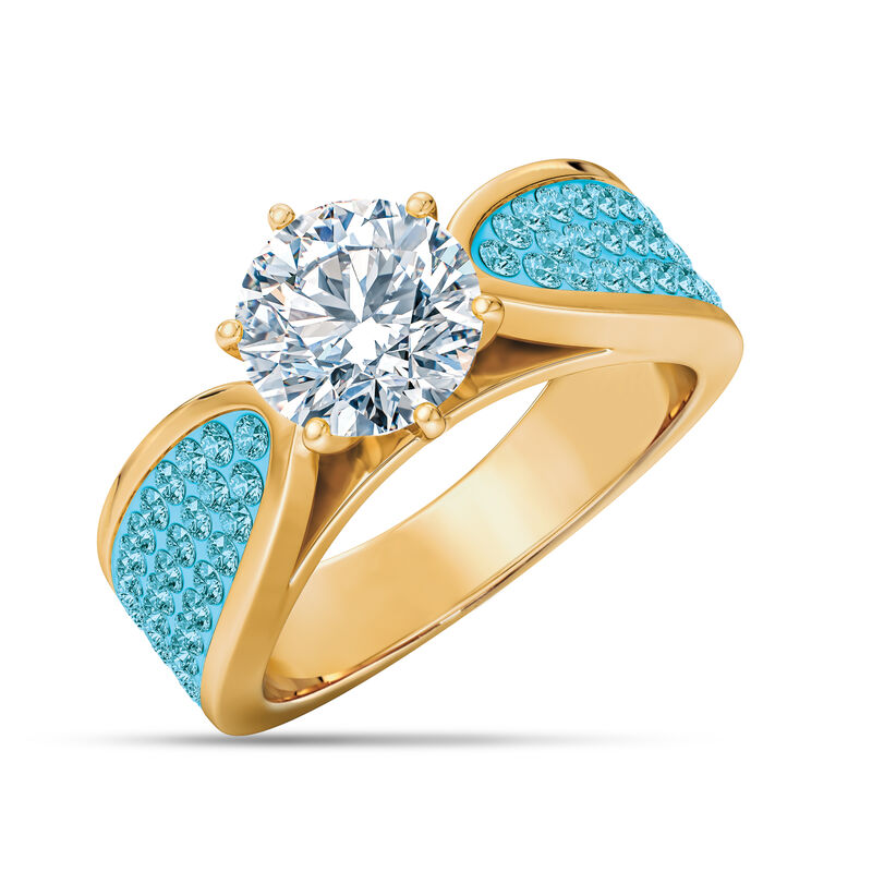 The Birthstone Fire Ring 2581 0011 c march