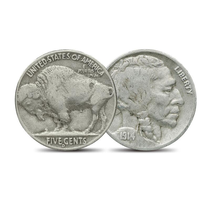 The Complete Buffalo Nickel Mint Set 6668 0018 c buffalo