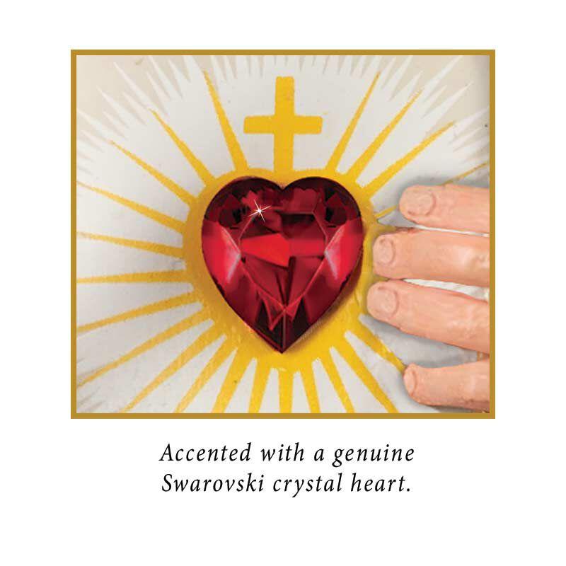 The Jesus Sacred Heart Clock 5655 001 5 2