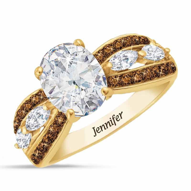 Mocha Splendor Diamonisse Ring 2111 002 8 1