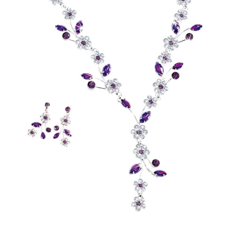 Birthstone Blooms Crystal Necklace 1398 001 6 2