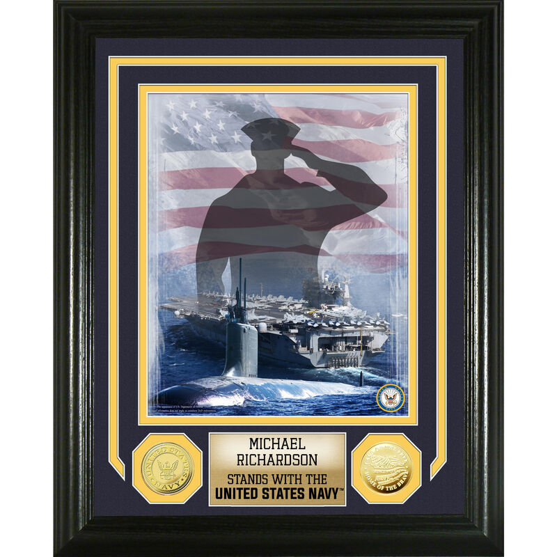 Salute to the United States Navy Commemorative 5077 014 8 1