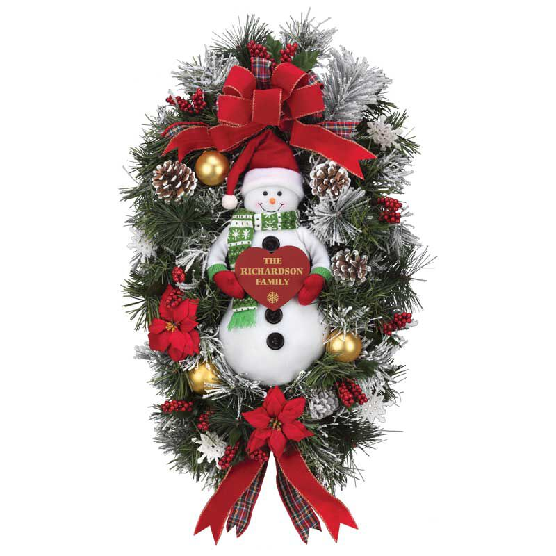 The Personalized Family Christmas Wreath 2379 001 7 1