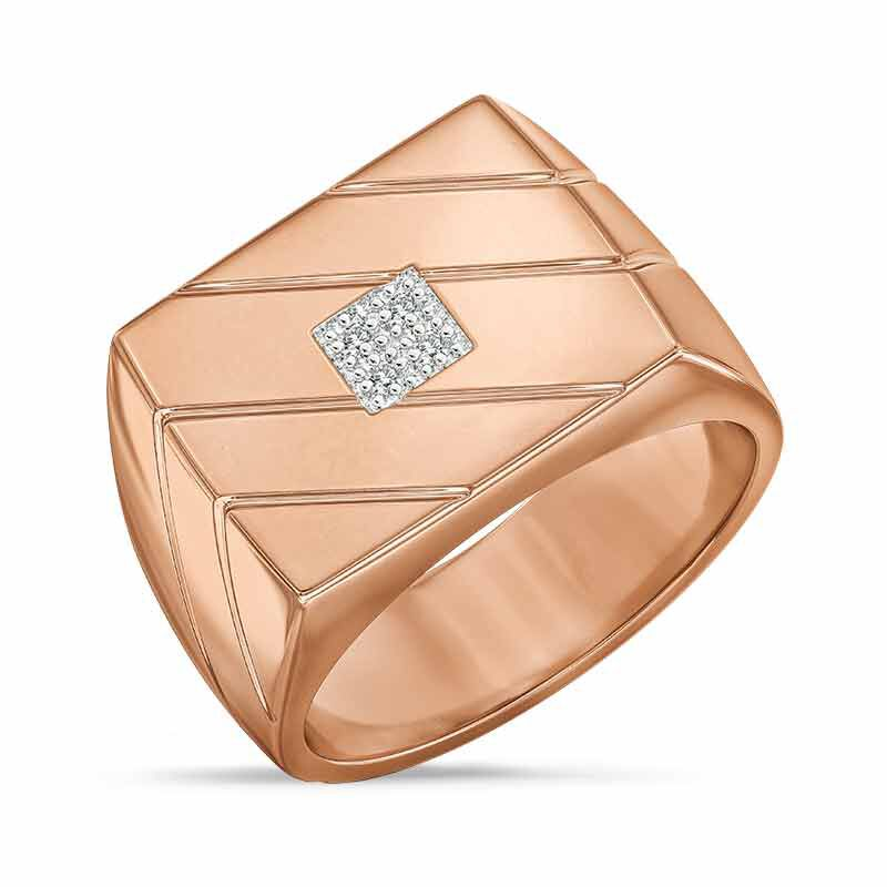 Copper Ice Mens Ring 6394 001 9 1